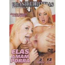 DVD THEY LIKE IT IN THE BACK 2 (Elas Gostam Atrás 2)